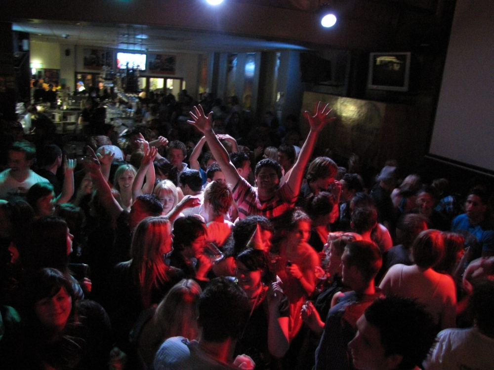 Night club dance party New Plymouth
