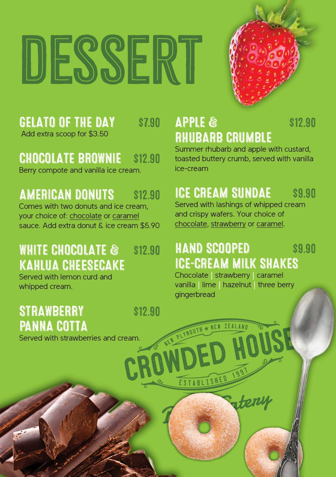 Crowded House_Dessert and Snack_A5 Menu_Oct-2020